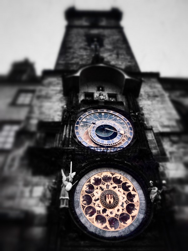 Astronomical Clock, Prague, by Franco Carbone, PhotographyBlogger.net