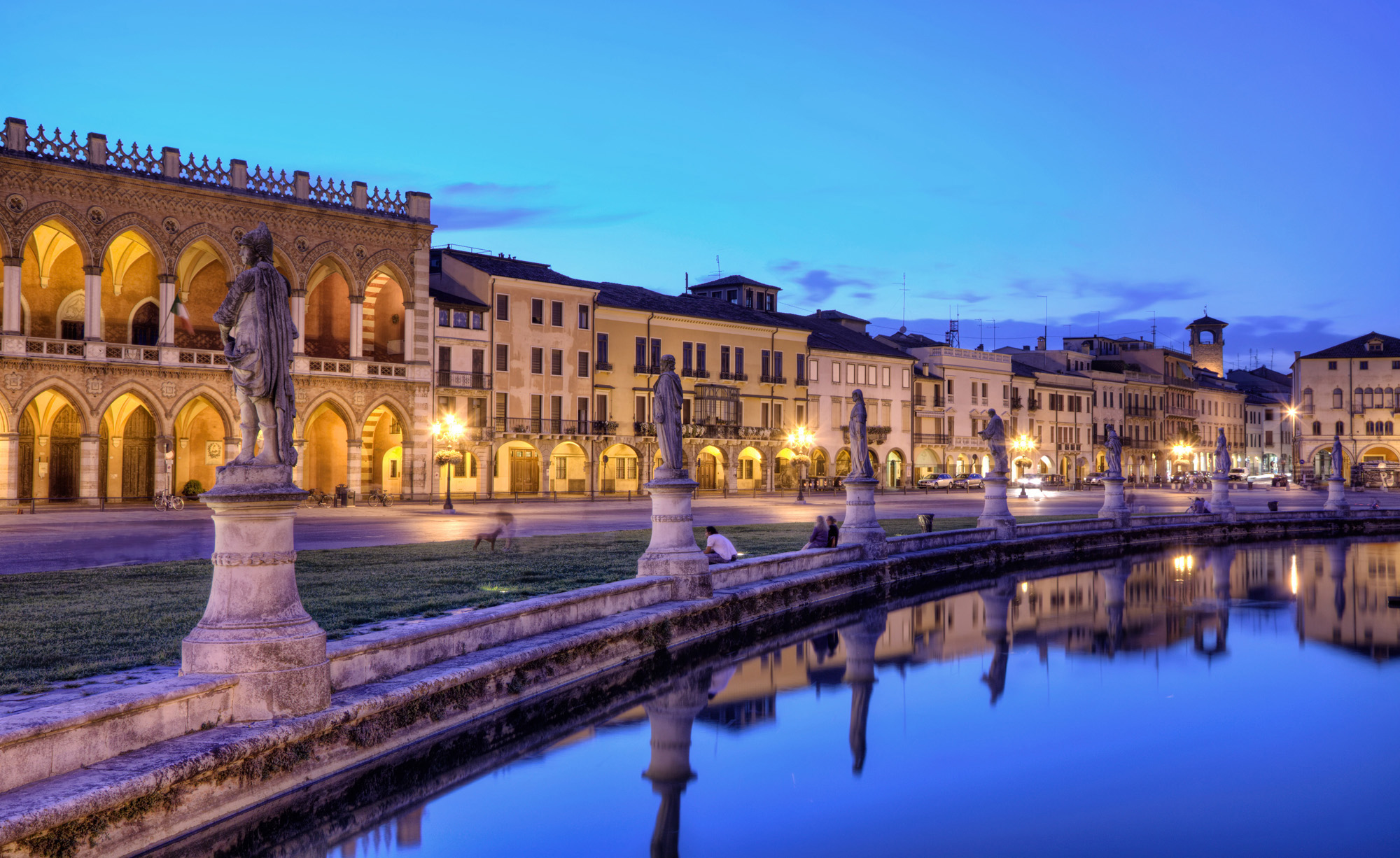 Wonderful Square of Prato della Valle in Padua