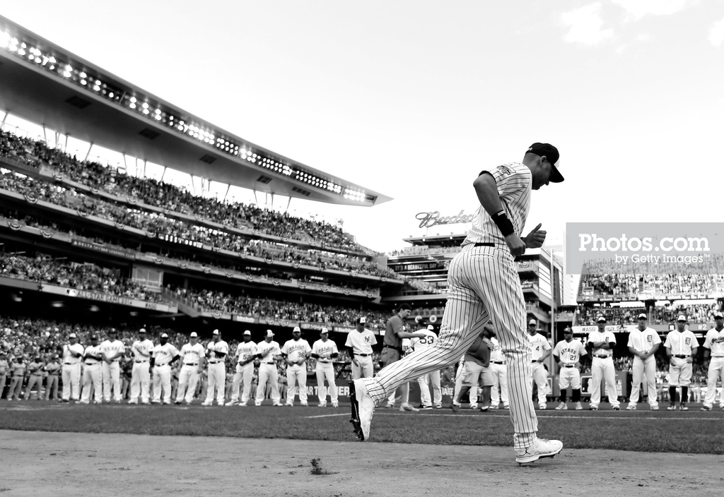 MINNEAPOLIS, MN - JULY 15: American League All-Star Derek Jeter #2 of the New York Yankees is introduced prior to the 85th MLB All-Star Game at Target Field on July 15, 2014 in Minneapolis, Minnesota. (Photo by Rob Carr/Getty Images)