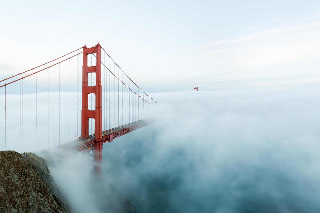 Golden Gate Bridge Fog