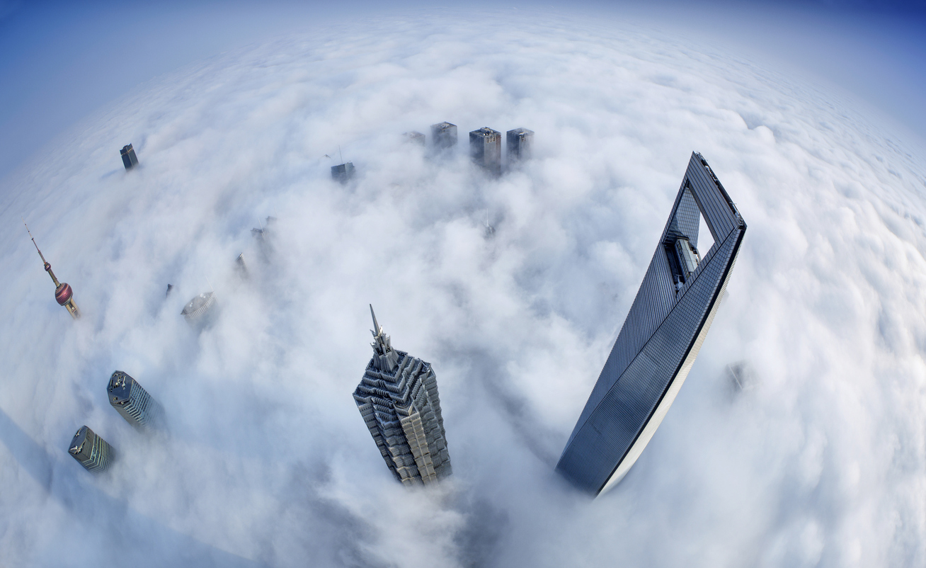10 Beautiful Images Of Cities Covered In Fog