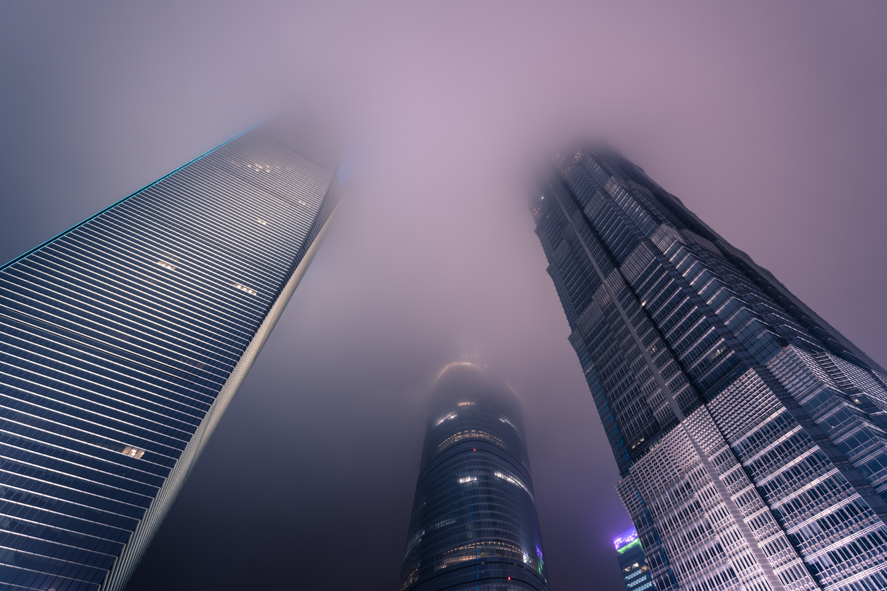 Fog Over Shanghai